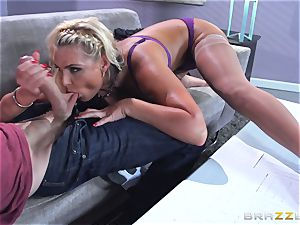 Phoenix Marie gets romped in the ass by giant dicked Danny D