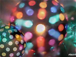 magnificent hefty jugged disco ball babe