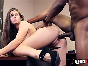 Lusty seductress IR boinked by suspended manager