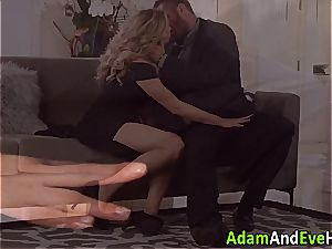 super-sexy duo Mia Malkova and Danny Mountain tearing up