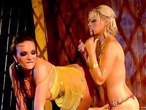 torrid Bridgette B tortures her partners humid crevasse