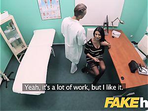 faux health center ginormous hooters polish honey Ania Kinski